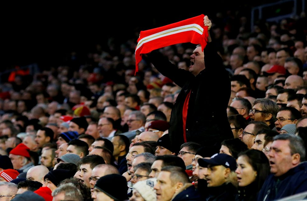 Liverpool fans protested at the new ticket prices imposed by the club Photo: Reuters / Phil Noble