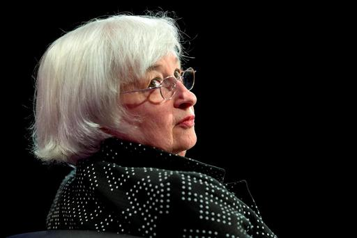 Janet Yellen, chairperson of the US Federal Reserve. Photographer: Andrew Harrer/Bloomberg