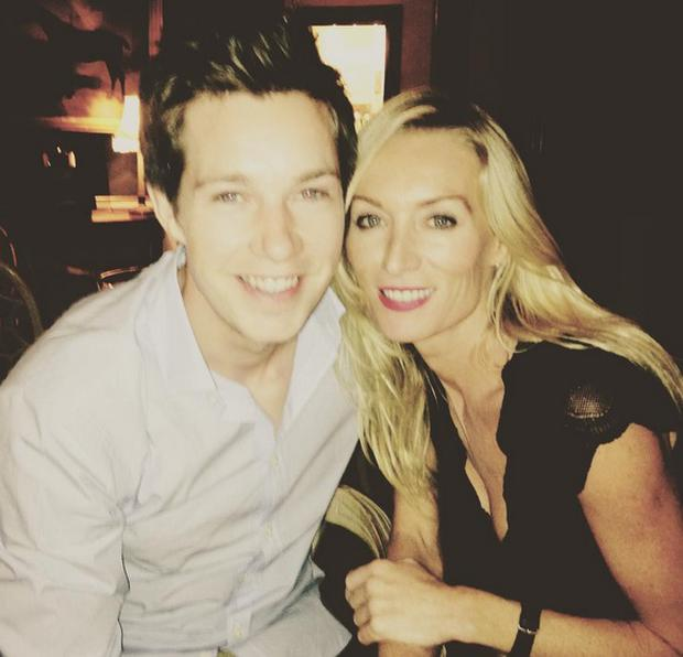 Victoria Smurfit and boyfriend Alistair Ramsden. Picture: Instagram