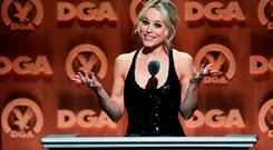 Actress Rachel McAdams speaks onstage at the 68th Annual Directors Guild Of America Awards at the Hyatt Regency Century Plaza on February 6, 2016 in Los Angeles, California. (Photo by Alberto E. Rodriguez/Getty Images for DGA)