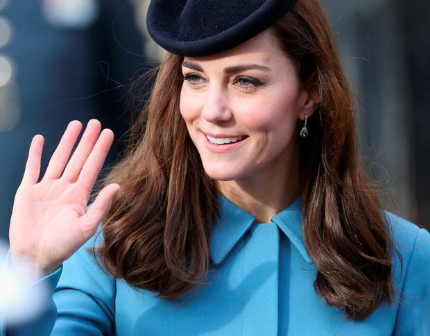 Catherine, Duchess of Cambridge attends the 75th Anniversary of the RAF Air Cadets at St Clement Danes Church on February 7, 2016 in London, England. (Photo by Chris Jackson/Getty Images)
