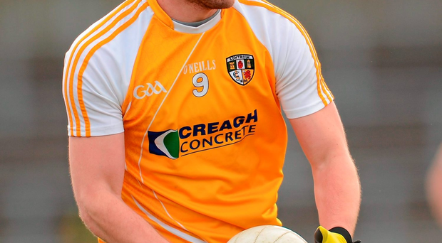 McVeigh: Antrim's man of the match. Picture credit: Sportsfile