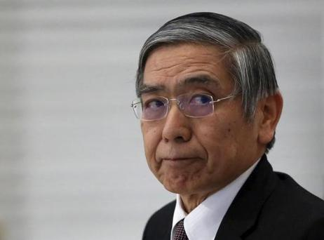 Bank of Japan (BOJ) Governor Haruhiko Kuroda attends a seminar in Tokyo, Japan, February 3, 2016. REUTERS/Yuya Shino