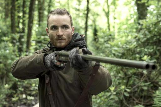 Martin McCann starring in The Survivalist