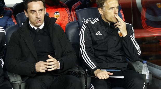 Things are not good for Gary and Phil Neville at Valencia