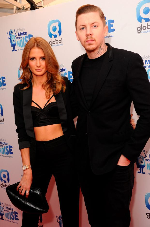 Millie Mackintosh and Professor Green attend the Global Make Some Noise event at Supernova on November 20, 2014 in London, England. (Photo by Stuart C. Wilson/Getty Images)