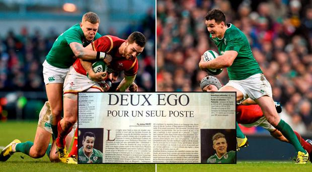Ian Madigan and Jonathan Sexton were the subject of an article in Midi Olympique today