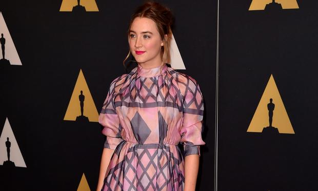 Saoirse Ronan is nominated for Best Actress at the 2016 Oscars