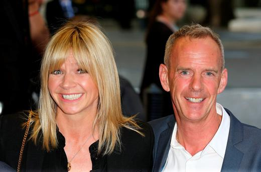 Zoe Ball and Norman Cook attend the UK Gala screening of