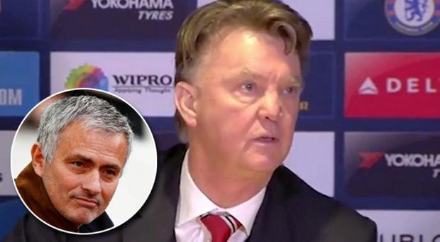 Rumours have been rife that Jose Mourinho will replace Louis van Gaal at Manchester United