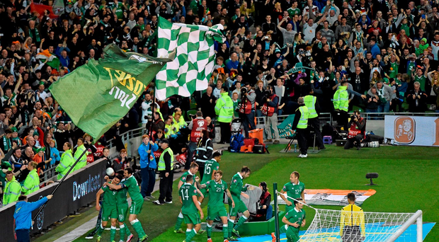 Irish football fans will be able to purchase tickets for March's double header with Switzerland and Slovakia next week