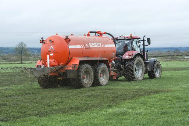 Slurry is now becoming a headache.