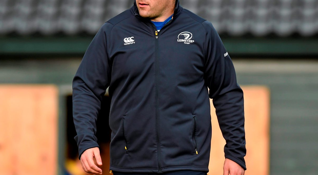 Leinster's Mike Ross may win a call-up for the Six Nations second round game against Paris after two months out with a hamstring injury. Photo: Matt Browne / Sportsfile