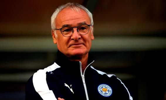 Leicester City manager Claudio Ranieri. Photo: Peter Byrne/PA Wire
