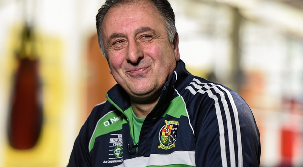 Interim Irish head coach Zaur Antia. Photo: Stephen McCarthy / Sportsfile