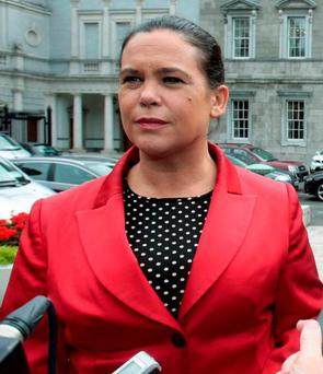 Sinn Féin deputy leader Mary Lou McDonald. Photo: Tom Burke