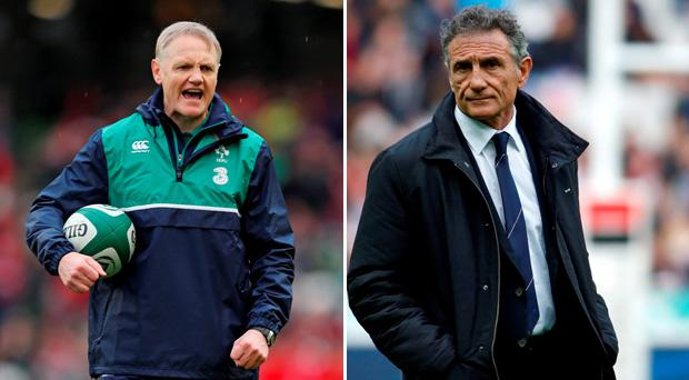 Joe Schmidt will pit his wits against Guy Noves on Saturday