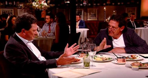 Marco Pierre White and Tom Doorley clash on The Restaurant