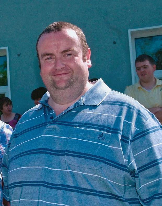Paul Carney pictured at his heaviest 28 stone before joining Motivation Weight Management Clinic