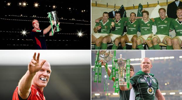 Paul O'Connell has brought the curtain down on his career