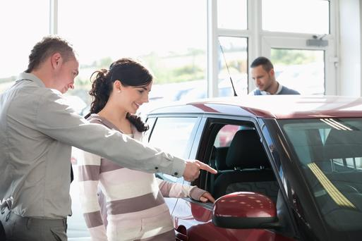 90pc of the women said they would not visit a dealership without a man.