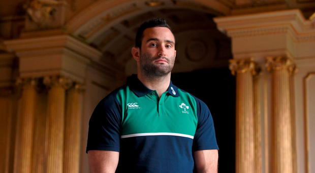 Ireland's Dave Kearney believes France are vulnerable in defence. Paul Mohan / SPORTSFILE