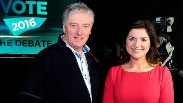 Pat Kenny will moderate alongside TV3 news anchor Colette Fitzpatrick