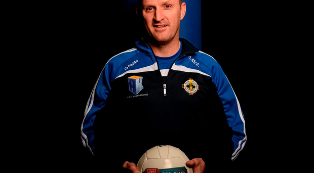 Andy McEntee is the Meath man at the helm of Ballyboden St Enda's2012.: Sam Barnes / SPORTSFILE