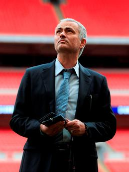 United have not denied reports that talks have been held with representatives of Mourinho. Photo: PA
