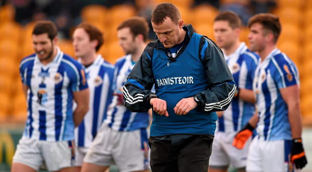 Andy McEntee is looking to take Ballyboden's fitness to new heights after back-to-back Dublin semi-final defeats to St Vincent's: Stephen McCarthy / SPORTSFILE