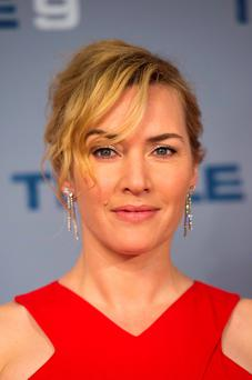Kate Winslet attends the UK gala screening of Triple 9 at the Ham Yard Hotel in London. Photo: Matt Crossick/PA Wire