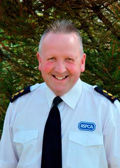 Photo issued by the RSPCA of Inspector Mike Reid, 54, who has gone missing after attending the rescue of dozens of sea birds at a beach in Cornwall during Storm Imogen. Photo: RSPCA/PA Wire