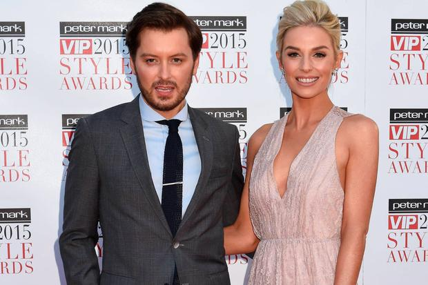 Brian Dowling and Pippa O'Connor