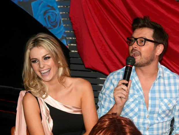 Brian Dowling and Pippa O'Connor in 2011