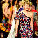 Model Gigi Hadid AND MODELS walk the runway during the
