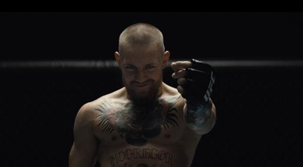 Conor McGregor in the new promo video