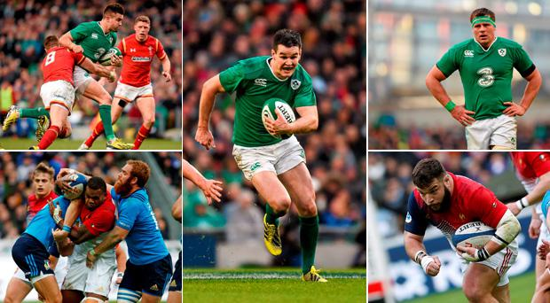 Who has made out Ireland-France combined XV? These five have.