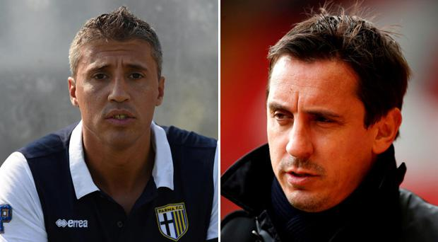 Hernan Crespo felt Gary Neville was too harsh as a pundit