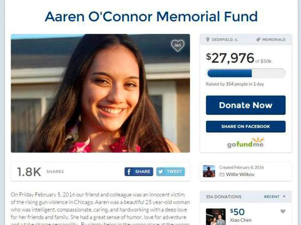 Friends and colleagues have set up a memorial fund to help disadvantaged young people in Chicago