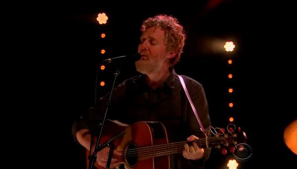 Glen Hansard on The Late Late Show with James Corden