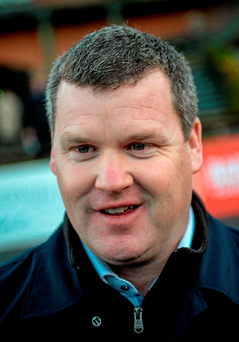 Trainer Gordon Elliott. Picture credit: Cody Glenn / Sportsfile