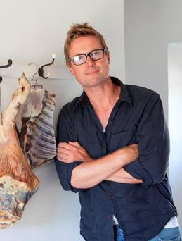 Steven Lamb, the River Cottage curing and smoking expert.