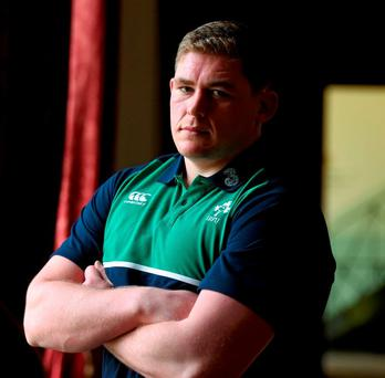 Ireland's Tadhg Furlong will take to the pitch at some point this weekend. Photo: Paul Mohan / Sportsfile