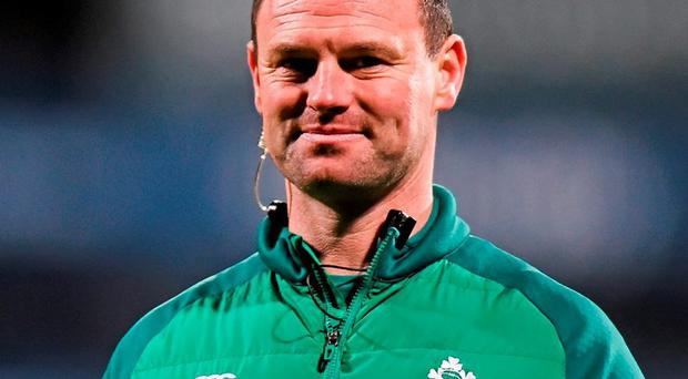 Ireland U20's head coach Nigel Carolan. Photo: Ramsey Cardy / Sportsfile