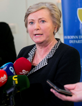 Fine Gael Justice Minister Frances Fitzgerald has been criticised for her response to the recent gangland killings Photo: Collins Dublin, Gareth Chaney