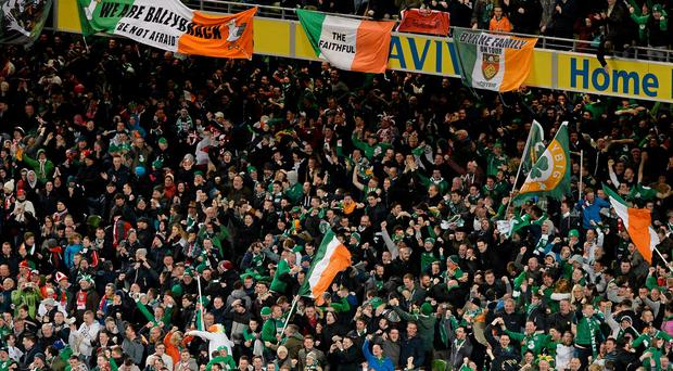 A huge number of Ireland fans will travel to the Euros