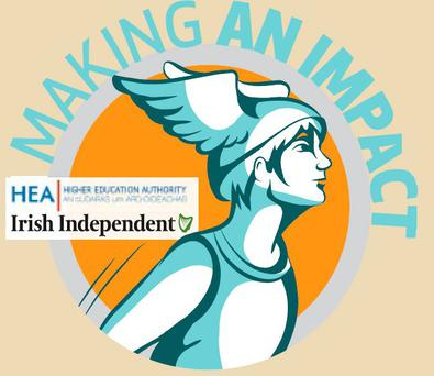 The annual 'Making an Impact' competition is sponsored by the Irish Independent and the Higher Education Authority (HEA)