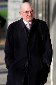 Former head of finance at Anglo Irish Bank Willie McAteer. Photo: Courtpix