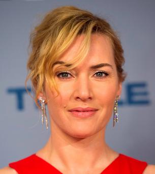 Kate Winslet: thinks DiCaprio may be in line for his first Oscar. Photo: Matt Crossick/PA Wire