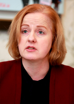 Anti-Austerity Alliance candidate Ruth Coppinger Photo: Frank Mc Grath